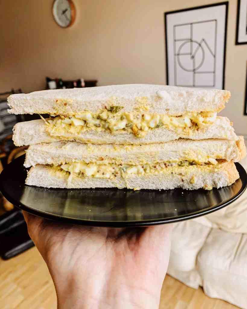 Molly Baz' Egg Salad Sandwich Recipe Keeva Eats