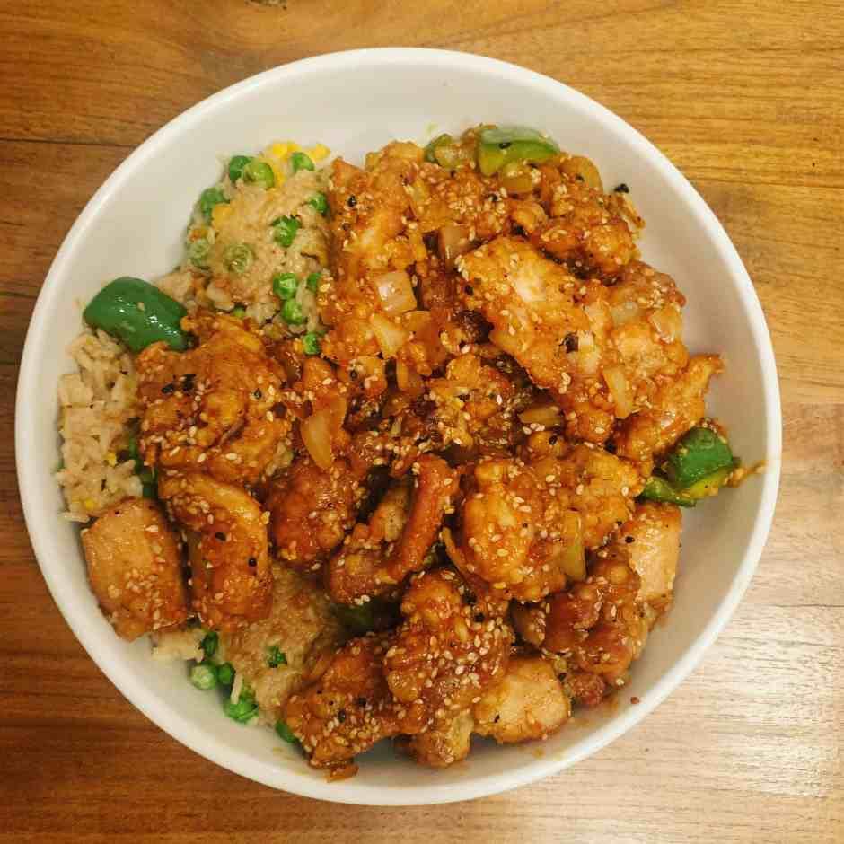 Keeva Eats Belfast Food Blog Sesame Chicken