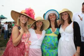 Ladies at the Derby