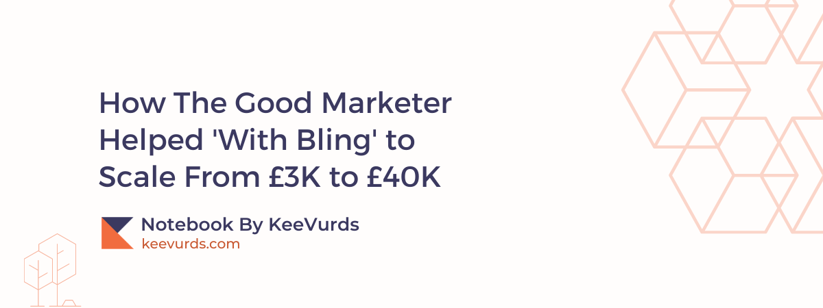How The Good Marketer Helped With Bling to Scale
