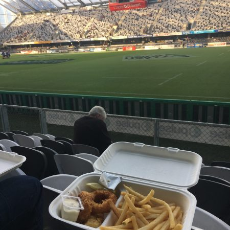 Fish and chips d'avant match