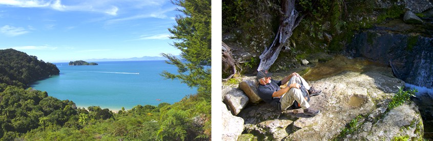 Hiking Abel Tasman National Park