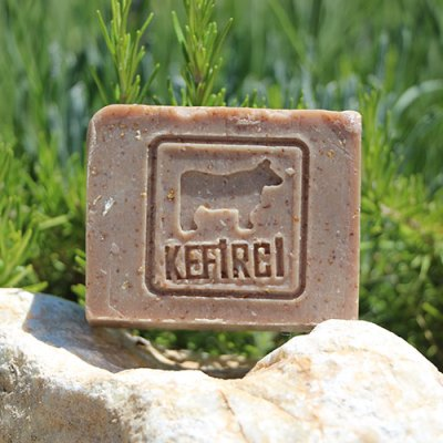 Kefir Soap with Oatmeal