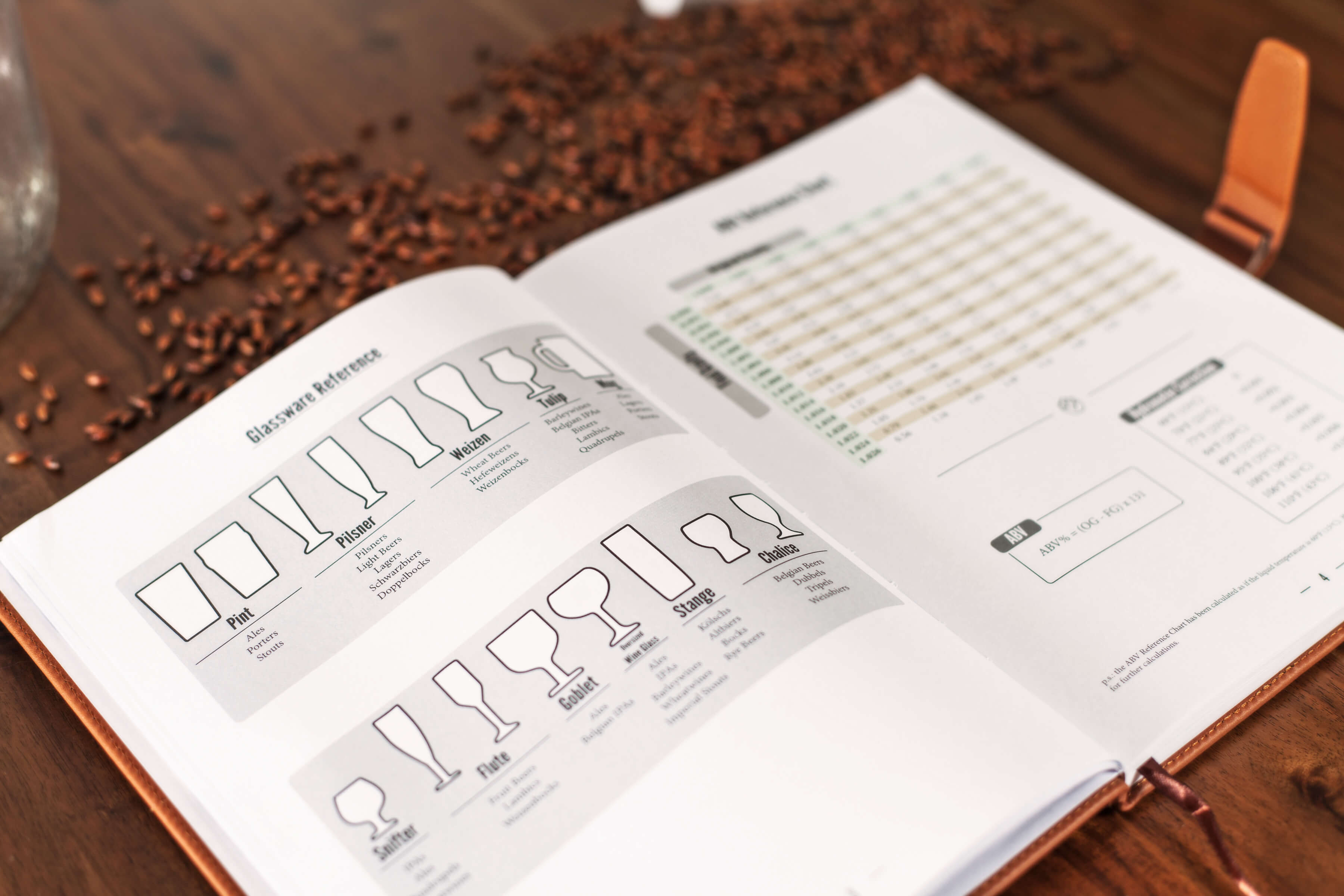 Home Brew Journal The Logbook For Craft Beer Recipes
