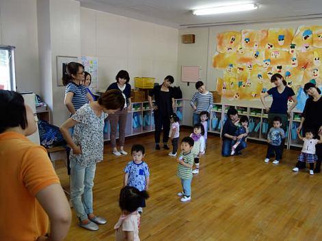 1歳児親子教室