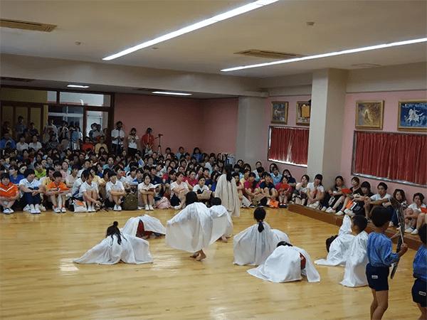 前年度卒園生による発表会再演