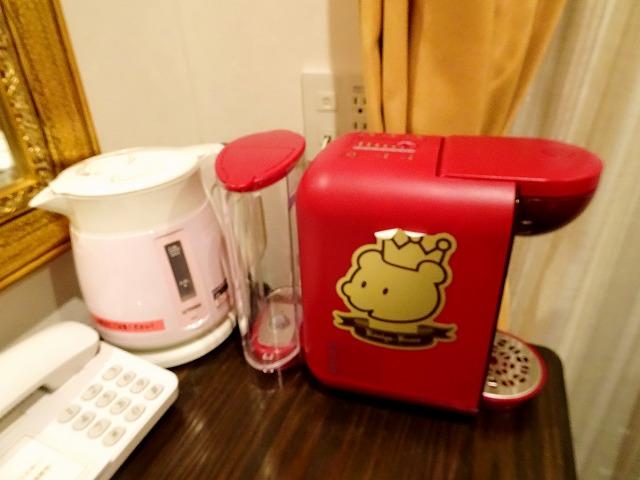 ホテルケーニヒスクローネ神戸のコーヒーメーカー