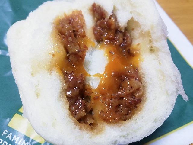 すき焼き風の肉まん