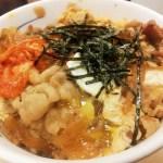 プレミアムキムチ牛丼