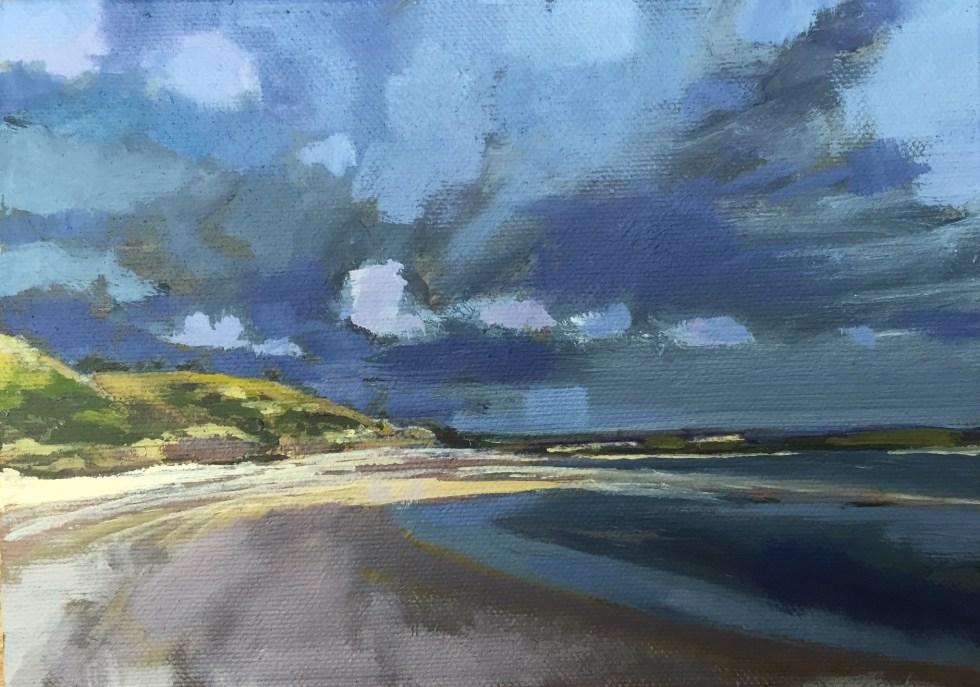 Storm on its Way, Rock, Cornwall