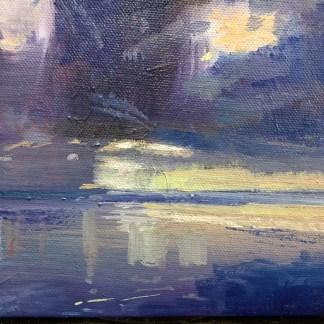 Lemon Sunset, Saunton Sands, Devon