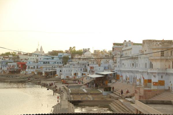 ここはインド?ヒンドゥー教の聖地プシュカルに到着!