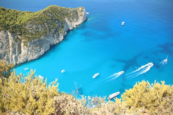 憧れのザキントス島へ!心の傷を癒しましょう。