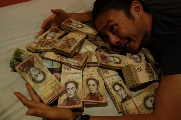 ベネズエラに戻りますー!大富豪になった日。