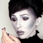 Grayscale Makeup Tutorial For Halloween Keiko Lynn