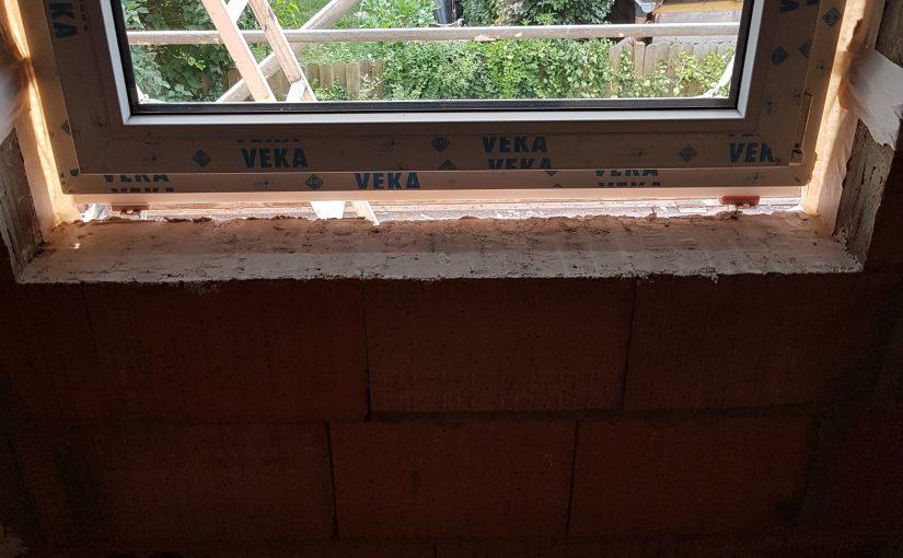 Fensterglattstrich