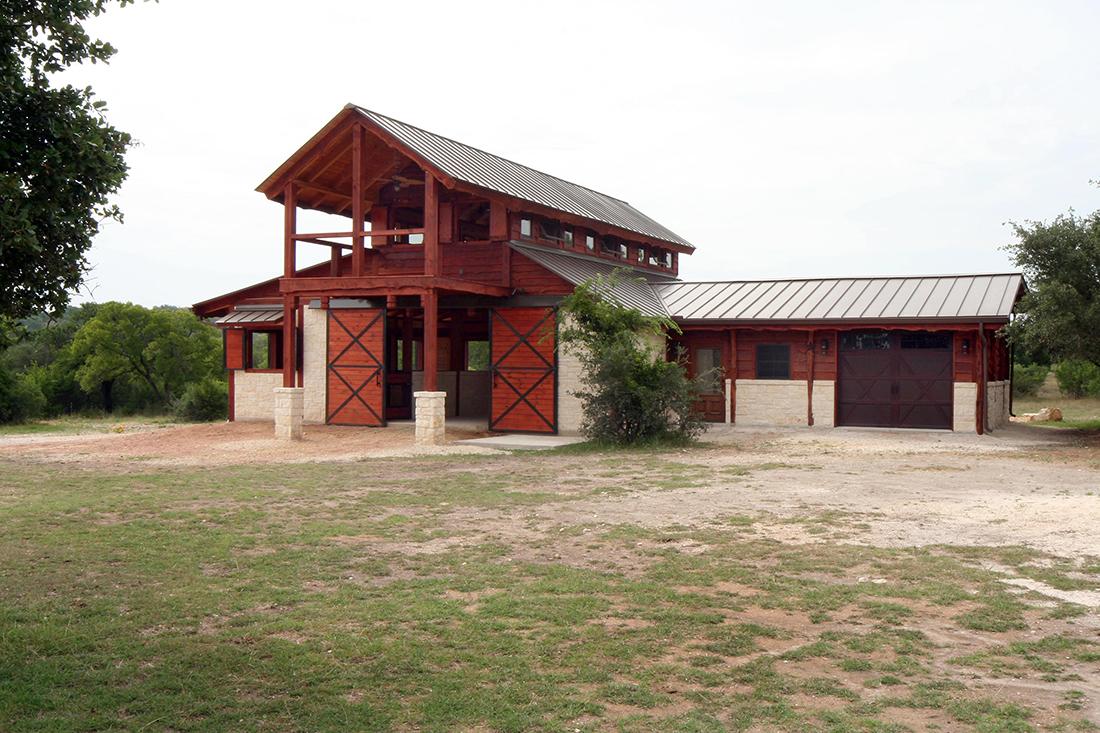 Barndominium Bergheim TX Keim Custom Homes