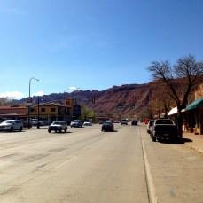 Main Street US 191 - South View
