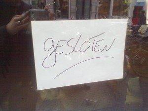 Das heißt es jetzt für neun Coffeeshops in Maastricht - Foto: Antonio Peri