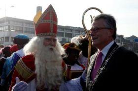 Sinterklaas hat nichts an Koen Schuiling  zu beanstanden.