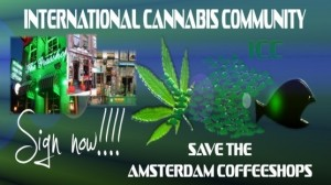 Logo der Petition FÜR den Erhalt der Coffeeshops