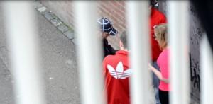 Straßendeal in Maastricht - Bild aus investigativem Videomaterial