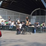 Amsterdam 2014 - 'Smoke in the park'