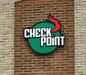 Das Logo des Checkpoint