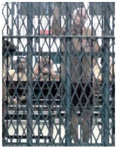 Johan van Laarhoven in seiner Zelle (Quelle: Justice for Johan)