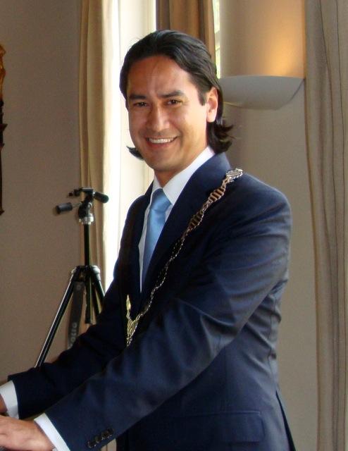 Harald Bergman (VVD), Bürgermeister von Middelburg