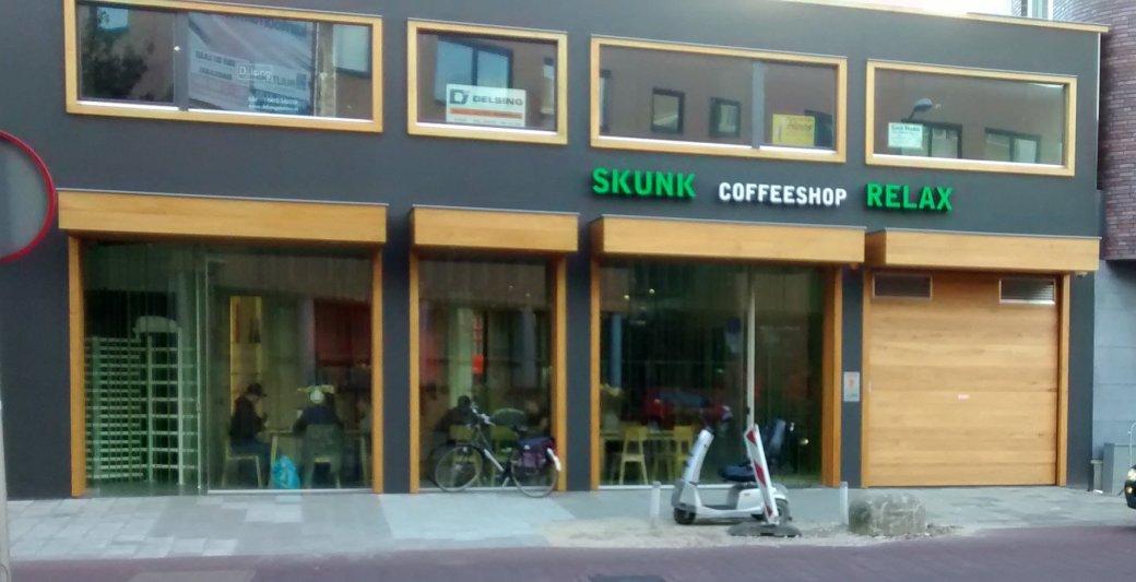 Bald nur noch für Niederländer: Skunk/Relax in Sittard