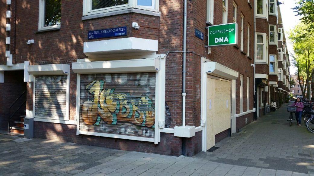 Coffeeshop DNA ist geschlossen