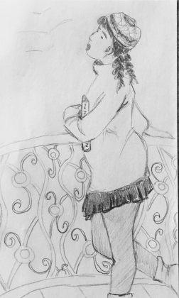 Zaria Fierce doodle