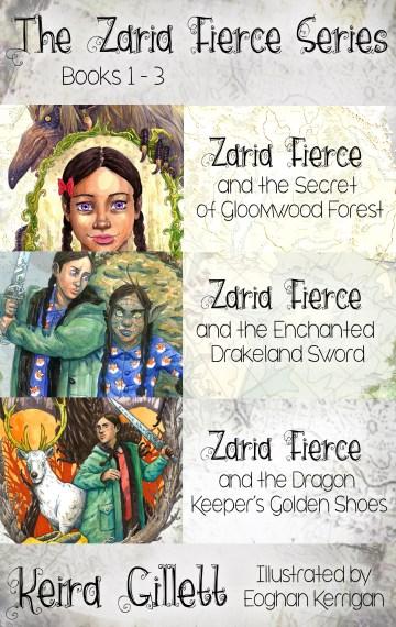 Zaria Fierce Series (Omnibus/Bundle) Books 1-3