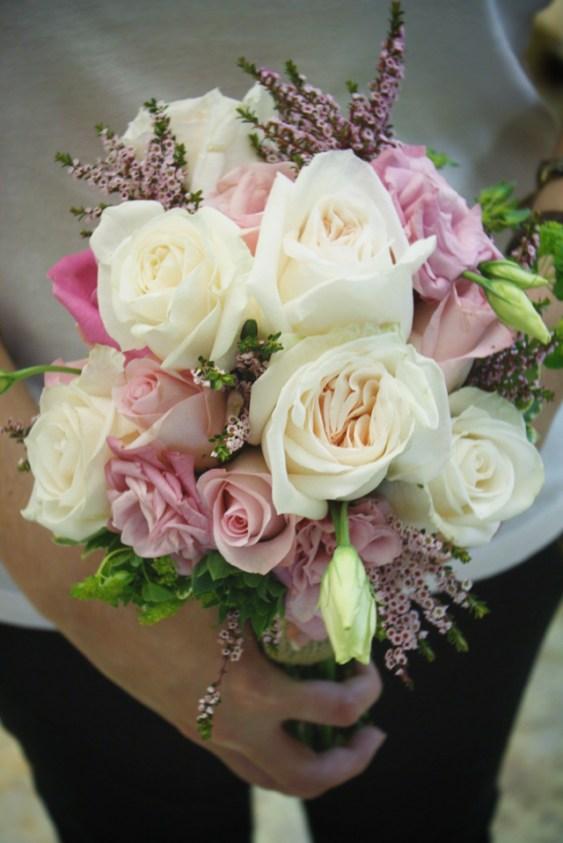 gardenrosebridesmaidbouquet