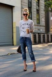 Six Ways to Wear a Sweatshirt This Winter