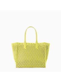 A Pretty Penny | Summer Carry-alls: Zara Perforated Shopper Bag