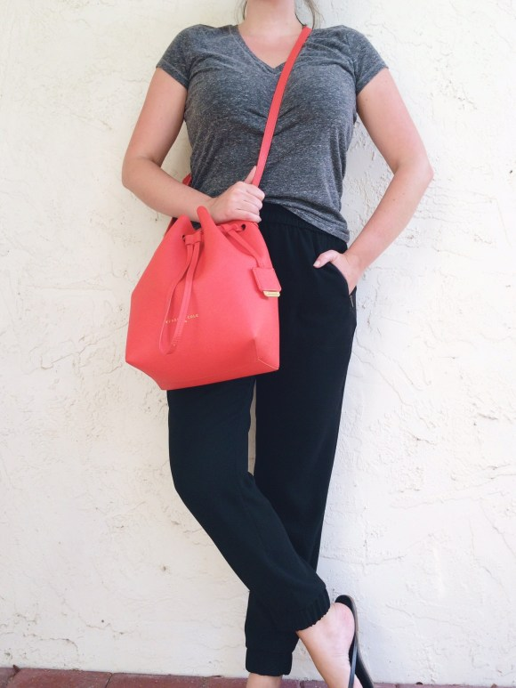 A Pretty Penny Personal Style Blog J.Crew Turner Pants Aeropostale Tee Casual Style Minimal Style