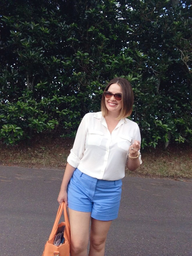 A Pretty Penny Blog Summer Style Loft Doubleweave Rivera Shorts