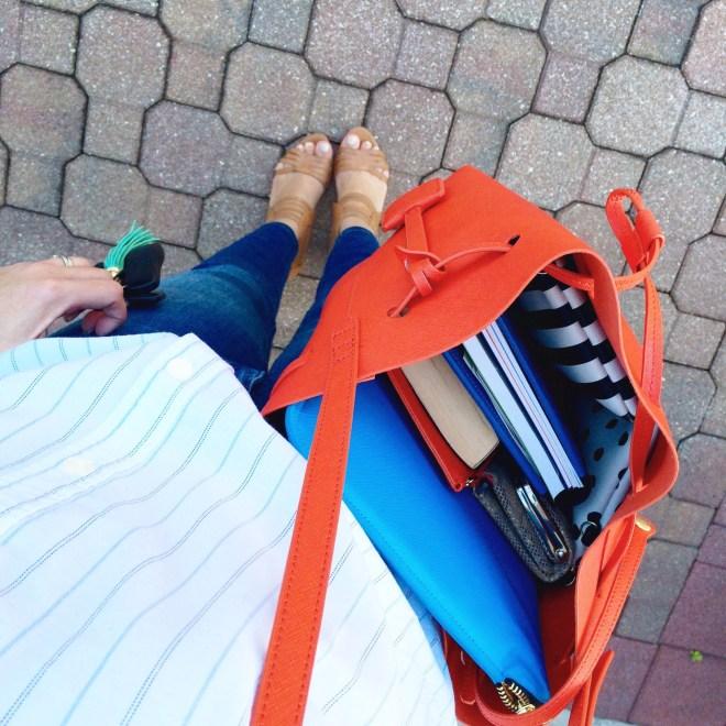 A Pretty Penny, Bucket Bag, Style Blogger