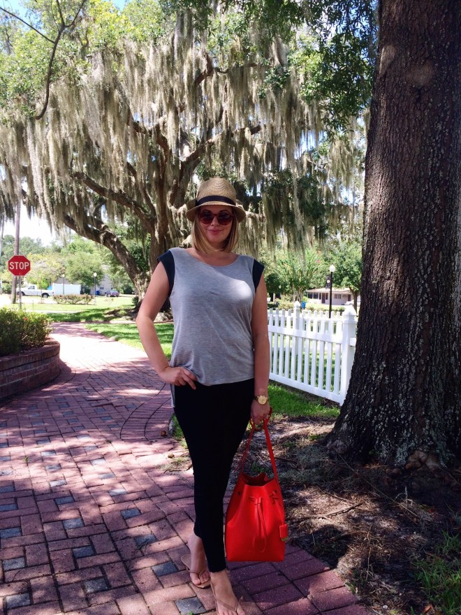 A Pretty Penny, Summer Outfit Ideas, American Eagle Skinny Jeggings