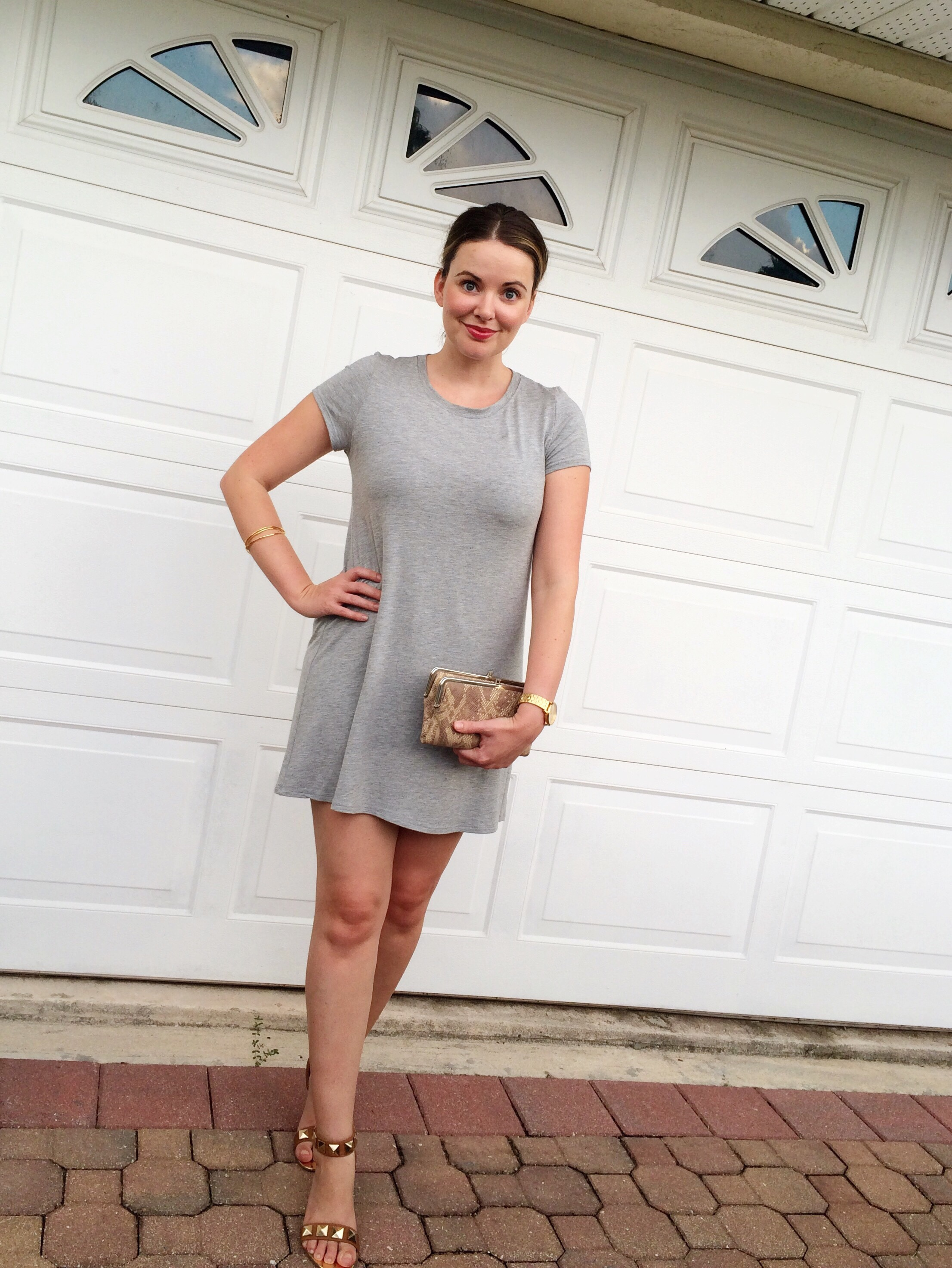A Pretty Penny, T-Shirt Dress, Casual Style, Summer Outfit Ideas,