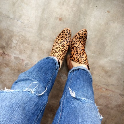 Sadly, these boots (another Hautelook score!) are not as comfy as they are cute. But who cares.