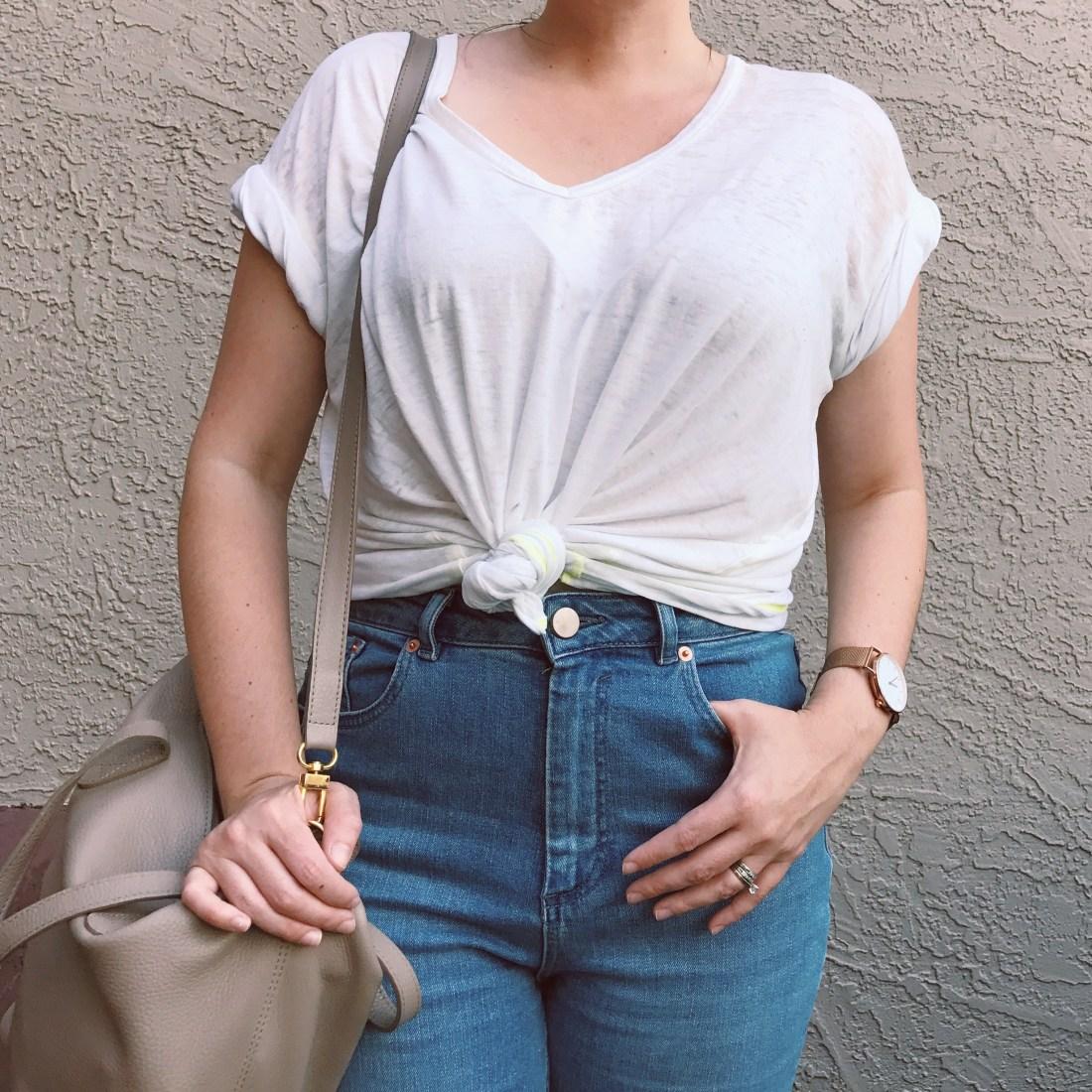 ASOS Farleigh High Waist Modern Mom Jeans