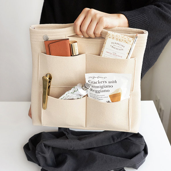 vercord long handbag organizer 2