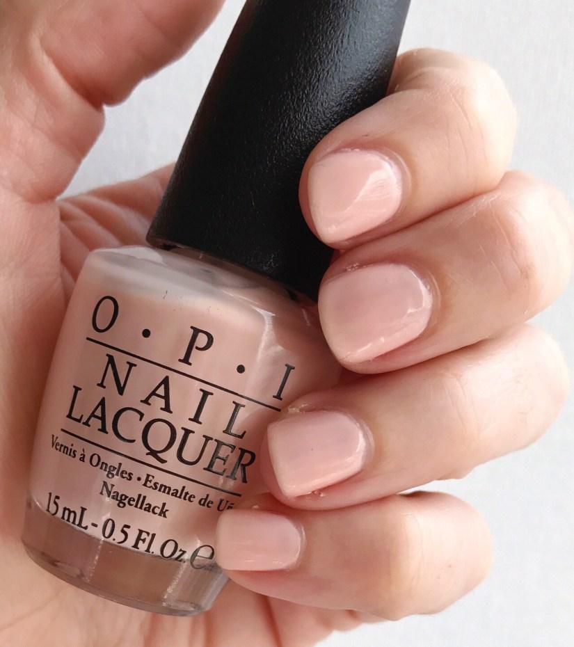 OPI Coney Island Cotton Candy Nude Nail Polish Manicure
