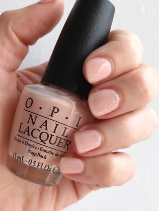 OPI Coney Island Cotton Candy Nude Nail Polish Manicure