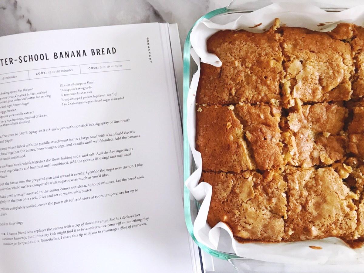 Magnolia Table cookbook 'After School Banana Bread' recipe