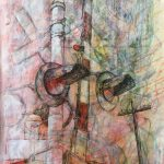 KMcArthur_Three Crosses from Hamilton Arts Council Artist Residency, 2019