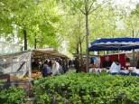 Organic produce market
